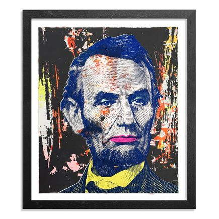 Greg Gossel Art Print - Honest Abe - 13