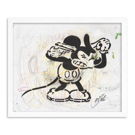 Jeff Gillette Original Art - 10 - Mickey Suicide - Part II - Hand-Painted Multiples