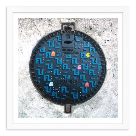OakOak Art Print - 13 of 15 - Pac Man: Level I - Hand-Painted Multiples