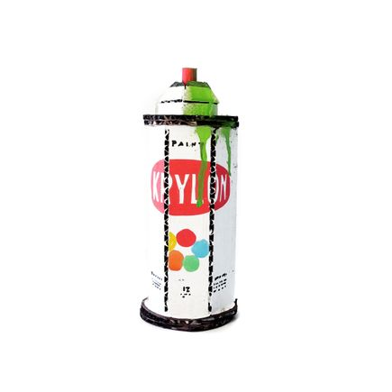 Bill Barminski Original Art - Spray Can - Krylon - Green