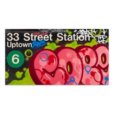Cope2 Original Art - 33 Street Station - Original Artwork