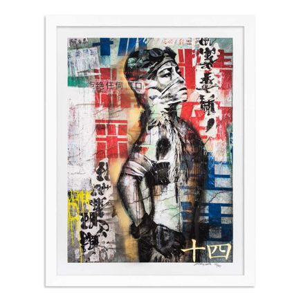 Eddie Colla Art Print - 14 of 40 - Without Excuse - Hand-Embellished Edition