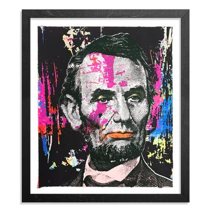 Greg Gossel Art Print - Honest Abe - 14