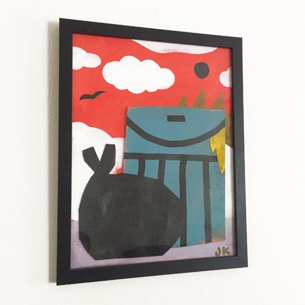 Jesse Kassel Original Art - Original Artwork - Hot Trash