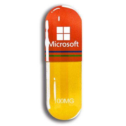 Denial Art - Microsoft - Mini Pill
