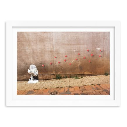 OakOak Art Print - 14 of 15 - Flying Hearts - Hand-Painted Multiple