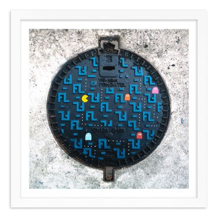 OakOak Art Print - 14 of 15 - Pac Man: Level I - Hand-Painted Multiples
