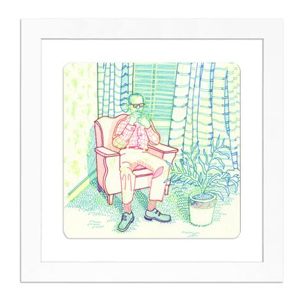 Michael Polakowski Original Art - Have a Seat