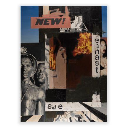 Adam Caldwell Original Art - New II - Original Artwork