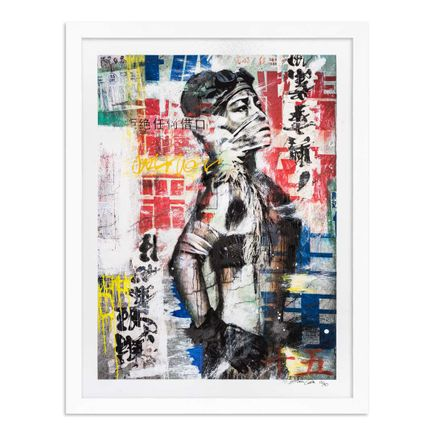 Eddie Colla Art Print - 15 of 40 - Without Excuse - Hand-Embellished Edition