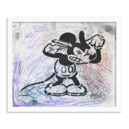 Jeff Gillette Original Art - 12 - Mickey Suicide - Part II - Hand-Painted Multiples