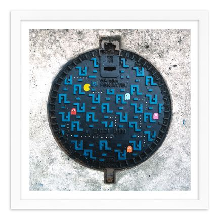 OakOak Art Print - 15 of 15 - Pac Man: Level I - Hand-Painted Multiples