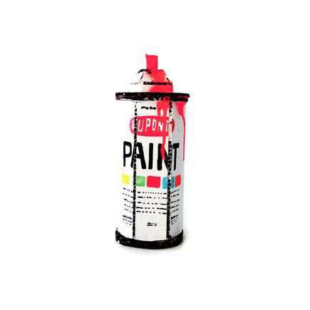 Bill Barminski Original Art - Spray Can - Krylon - Pink I