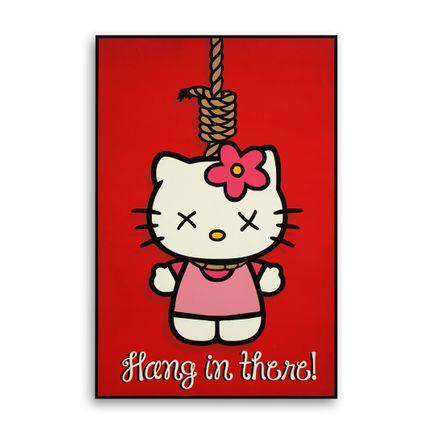 Denial Original Art - Goodbye Kitty - 24 x 36 Inch