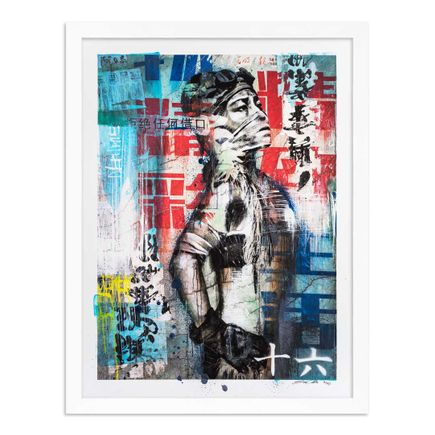 Eddie Colla Art Print - 16 of 40 - Without Excuse - Hand-Embellished Edition