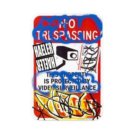 Hael Original Art - No Trespassing No Graffiti - V