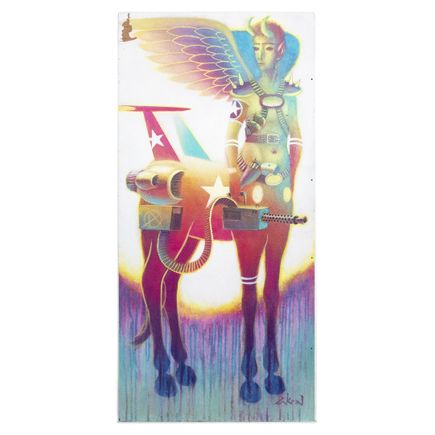 Ron Zakrin Original Art - Centaur In Technicolor II