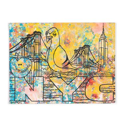 Bobby Hill Art - NYC - Pigeon