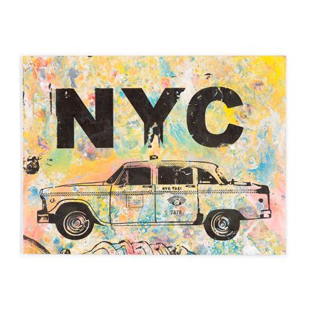 Bobby Hill Art Print - NYC - Taxi