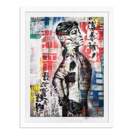 Eddie Colla Art Print - 17 of 40 - Without Excuse - Hand-Embellished Edition