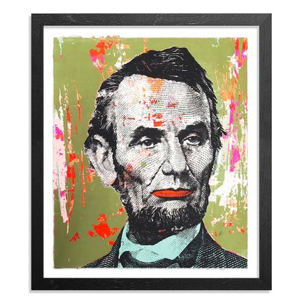 Greg Gossel Art Print - Honest Abe - 17