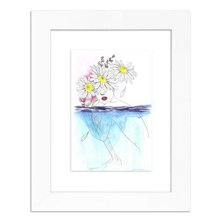 June Jung Original Art - When It Rains - Original Artwork