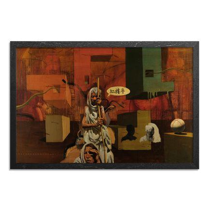 Adam Caldwell Original Art - Dream of the Red Chamber - Framed Original Artwork