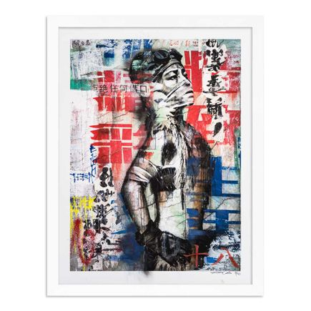 Eddie Colla Art Print - 18 of 40 - Without Excuse - Hand-Embellished Edition