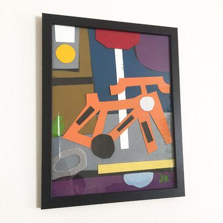 Jesse Kassel Original Art - Original Artwork - Forgotten Huffy