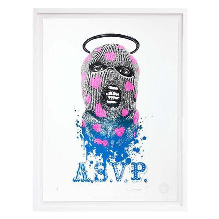 ASVP Art Print - Balaclava - Blue & Pink Edition