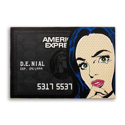 Denial Original Art - In The Black - 36 x 24 Inch Edition