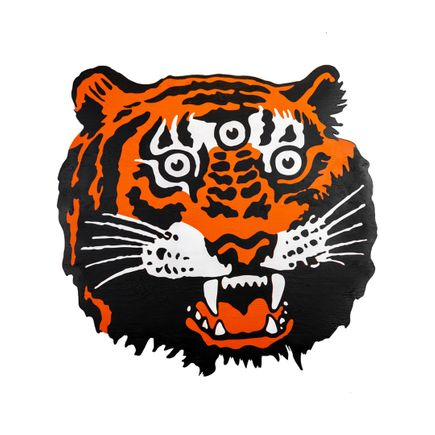 Denial Original Art - Tiger - Cut-Out