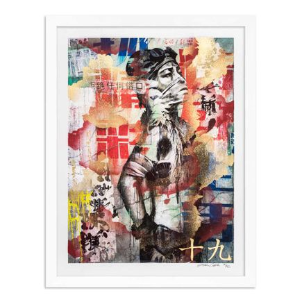 Eddie Colla Art Print - 19 of 40 - Without Excuse - Hand-Embellished Edition