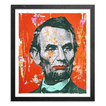 Greg Gossel Art Print - Honest Abe - 19