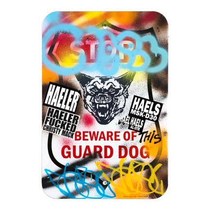 Hael Original Art - Guard Dog - I