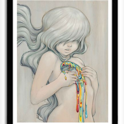 Camilla d'Errico Art Print - Beyond The Rainbow