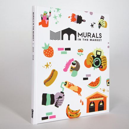 1xRUN Book - Murals In The Market Vol. I - Hardcover Book