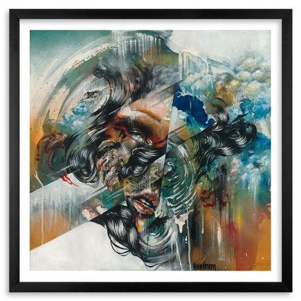 Hueman Art Print - Landfall - Framed