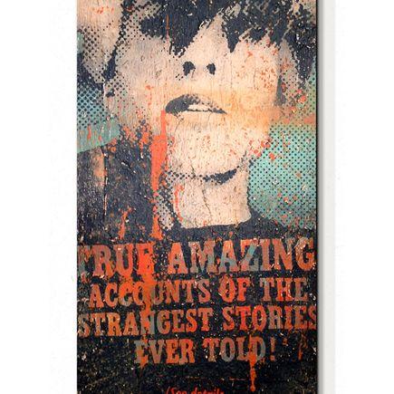 Bask Original Art - Amazing Accounts - Original Painting