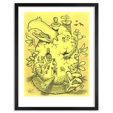 Beak McFlaps Art Print - Ego Ain't A Thang