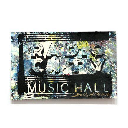 Bobby Hill Art - Radio City Music Hall