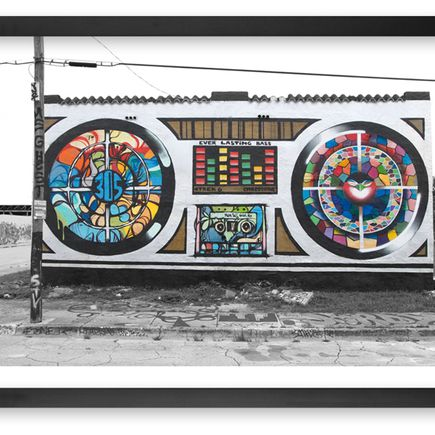 Chor Boogie + Trek6 Art Print - Everlasting Bass - Framed