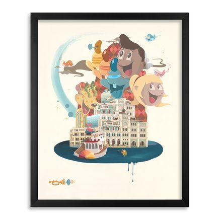 Dabs Myla Art Print - New Horizons