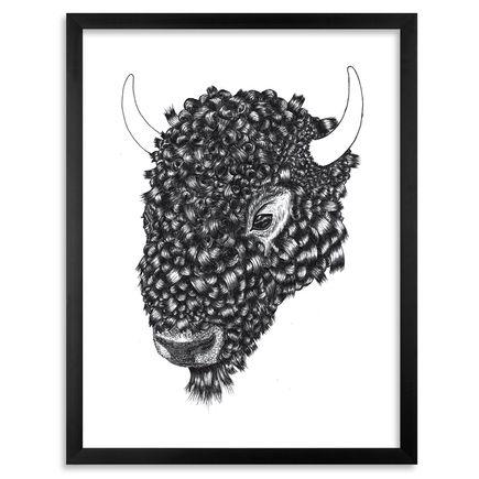 Gage Hamilton Art Print - Curly - Limited Edition Prints