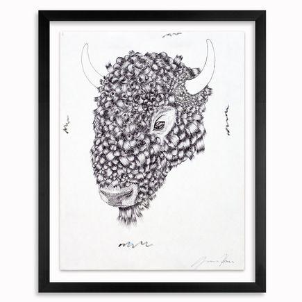 Gage Hamilton Original Art - Curly - Original Drawing