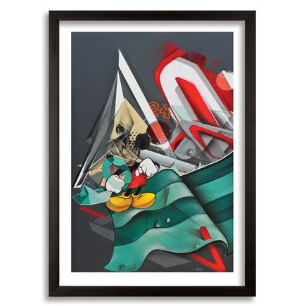 Helio Bray Art - Muso Inko - Framed