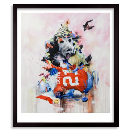 Joram Roukes Art Print - First Down