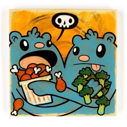 Kill Taupe Original Art - Chicken & Broccoli
