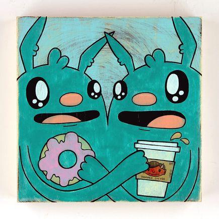 Kill Taupe Original Art - Coffee & Donuts