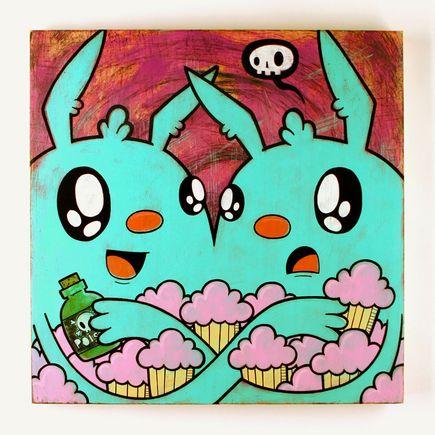 Kill Taupe Original Art - Cupcakes & Poison